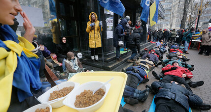 Occupy Kiev City Hall: Ukrainian protesters find refuge in city offices (+video)