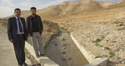 Palestinian mayor recruits global village to clean up sewage