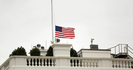 US flags lowered for Mandela, rare honor for a foreign leader