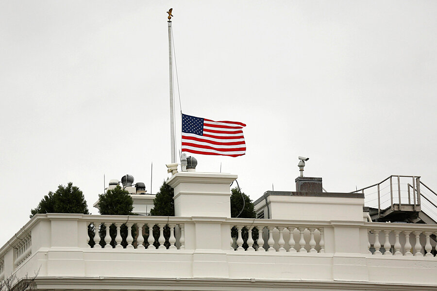 Remarkable Us Flags Lowered For Mandela Rare Honor For A Foreign Download Free Architecture Designs Scobabritishbridgeorg