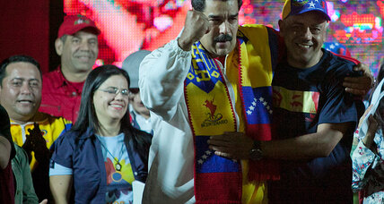 Why is Venezuela's President Maduro happy about mayoral races?