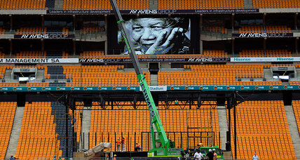 Mandela memorial: a national moment and a global who's who