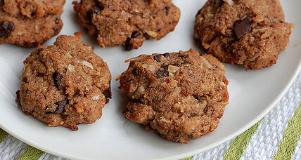 Holiday food gifts: Coconut almond chocolate chunk cookies