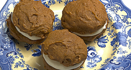 Pumpkin whoopie pies two ways