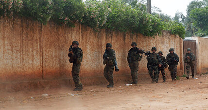 A brief French intervention in the Central African Republic? Maybe not.