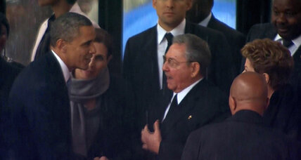 Shaking out the Obama-Castro handshake (+video)