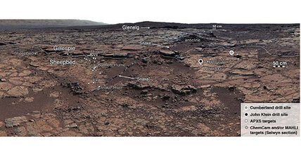 Curiosity rover spots key ingredients for life on Mars