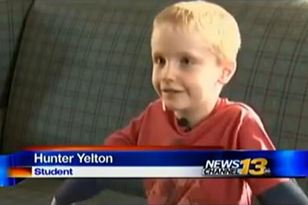 Experts question school's decision to suspend 6-year-old ...