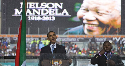 Hunt is on for Mandela memorial mystery signer