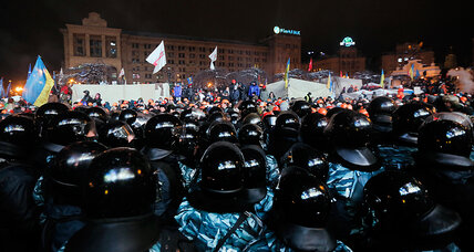 Ukraine protests: What's next after riot police pullback? (+video)