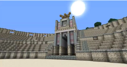 Tunnels under Rome inspire thumbs up to Minecraft (+video)