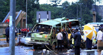At least 3 killed in Kenya minibus attack