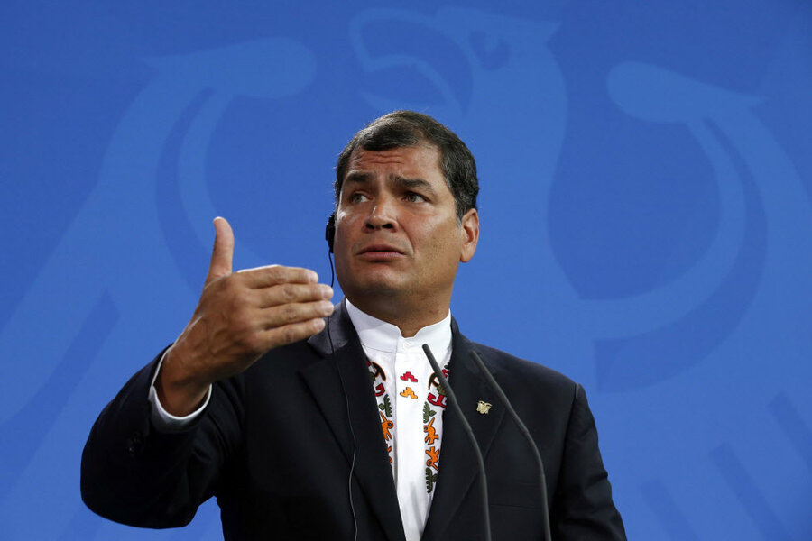 At odds with Ecuador, USAID moves to leave
