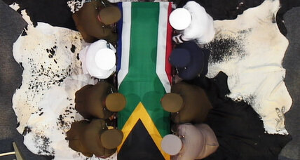 South Africa says a final goodbye to Mandela