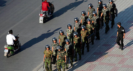 Clashes in China's restive Xinjiang kill at least 16