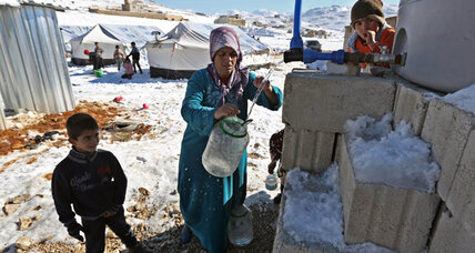 By the numbers: UN's Syrian refugee appeal (+video)