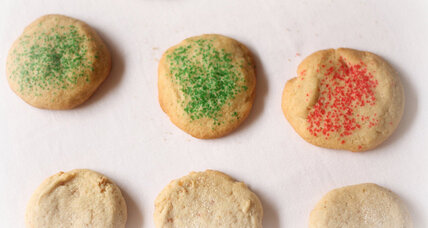 Lemongrass and pandan Christmas sugar cookies