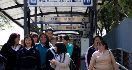 Mexico City's metro: the politics of a price increase