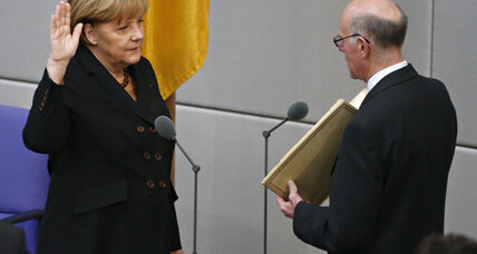 At long last, Angela Merkel is sworn in as German chancellor