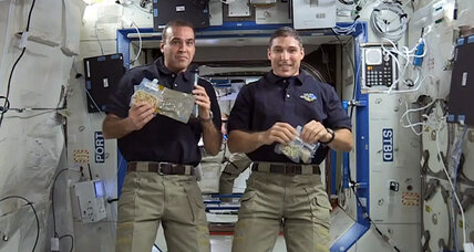 Two US astronauts tapped for spacewalks to fix a space station pump