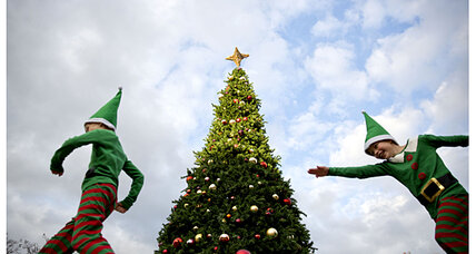 Christmas trees: Would you buy an upside down one?