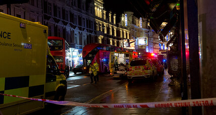London theatre partially collapses during performance, dozens injured