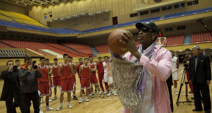 'It's all love here': Will NBA stars follow Rodman to North Korea?