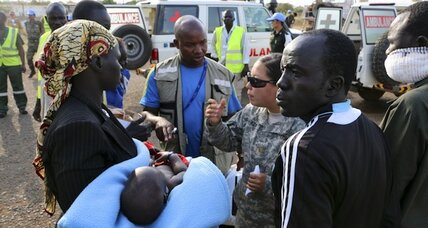 US Marines 'positioned' to enter S. Sudan as civil war looms