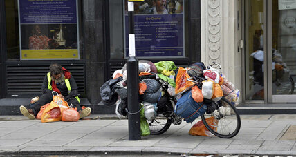 Churches step in as Britain's recovery bypasses the homeless