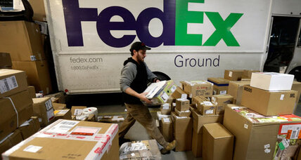 UPS, FedEx delays turn white Christmas into 'wait' Christmas