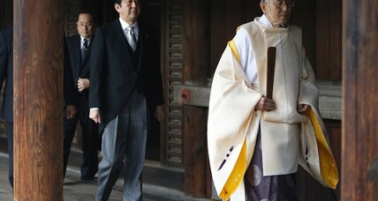 Japanese PM visits war shrine, stirring regional tensions