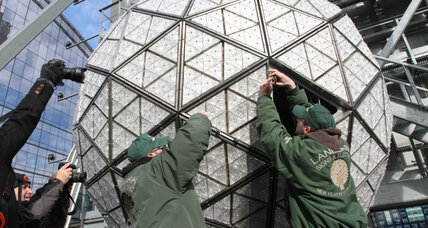 Times Square ball gets new shimmer