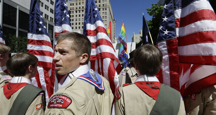 Boy Scouts open arms to gay troops in 2014