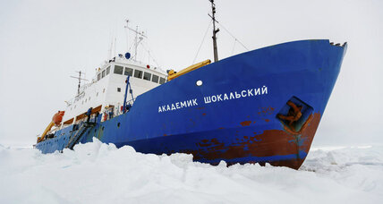 Third icebreaker in route to rescue stranded Antarctic research team