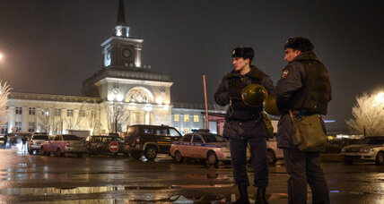 Suicide bomber strikes Russia. Another 'black widow?'