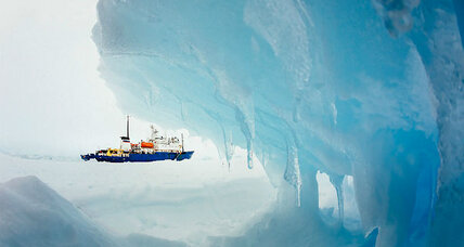 Antarctic blizzard halts icebreaker's rescue mission