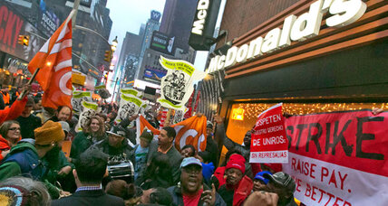 Minimum wage hikes in 14 states, but most fall short of Obama's goal
