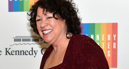Justice Sotomayor to lead Times Square ball drop. Undignified?