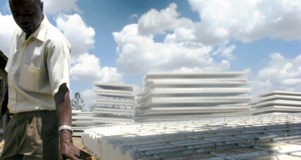 Polystyrene homes aim to take pressure off Kenya's forests