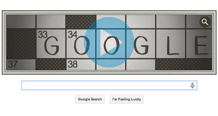 Crossword inventor honored with puzzling Google doodle
