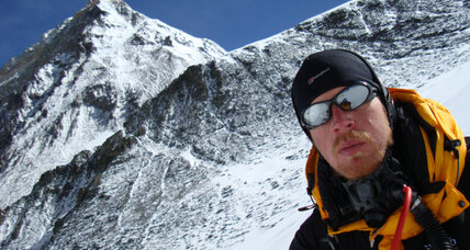 Ian Taylor climbs the heights to help build a school in Africa
