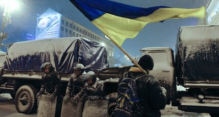 The Ukraine protests for integrity