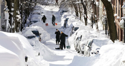 The upside of a Boston snowstorm: meeting your neighbors