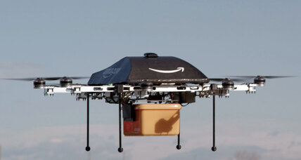 Amazon, pursuing drone delivery for packages, seeks FAA nod to test-fly