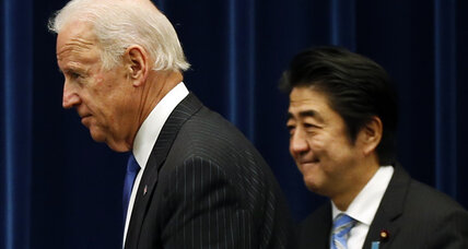 In Tokyo, Biden sends strong signal to China