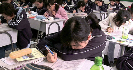 Why Asian teens do better on tests than US teens