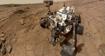 Curiosity measures radiation at Martian surface
