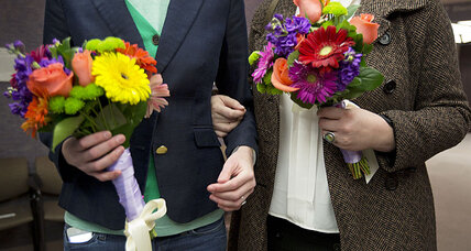 First gay marriages in Utah as federal judge overturns ban