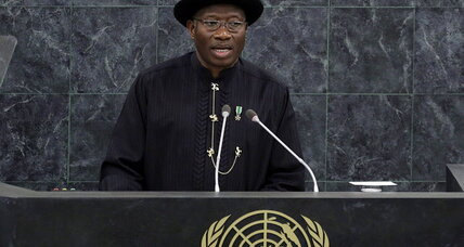 Nigeria's Goodluck Jonathan faces first significant political crisis