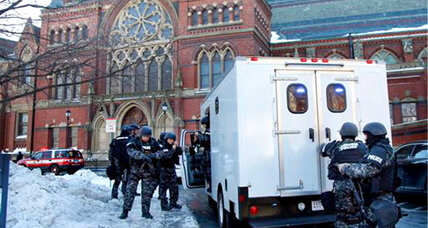 Harvard: Bomb threat causes evacuations during finals, but no bomb found
